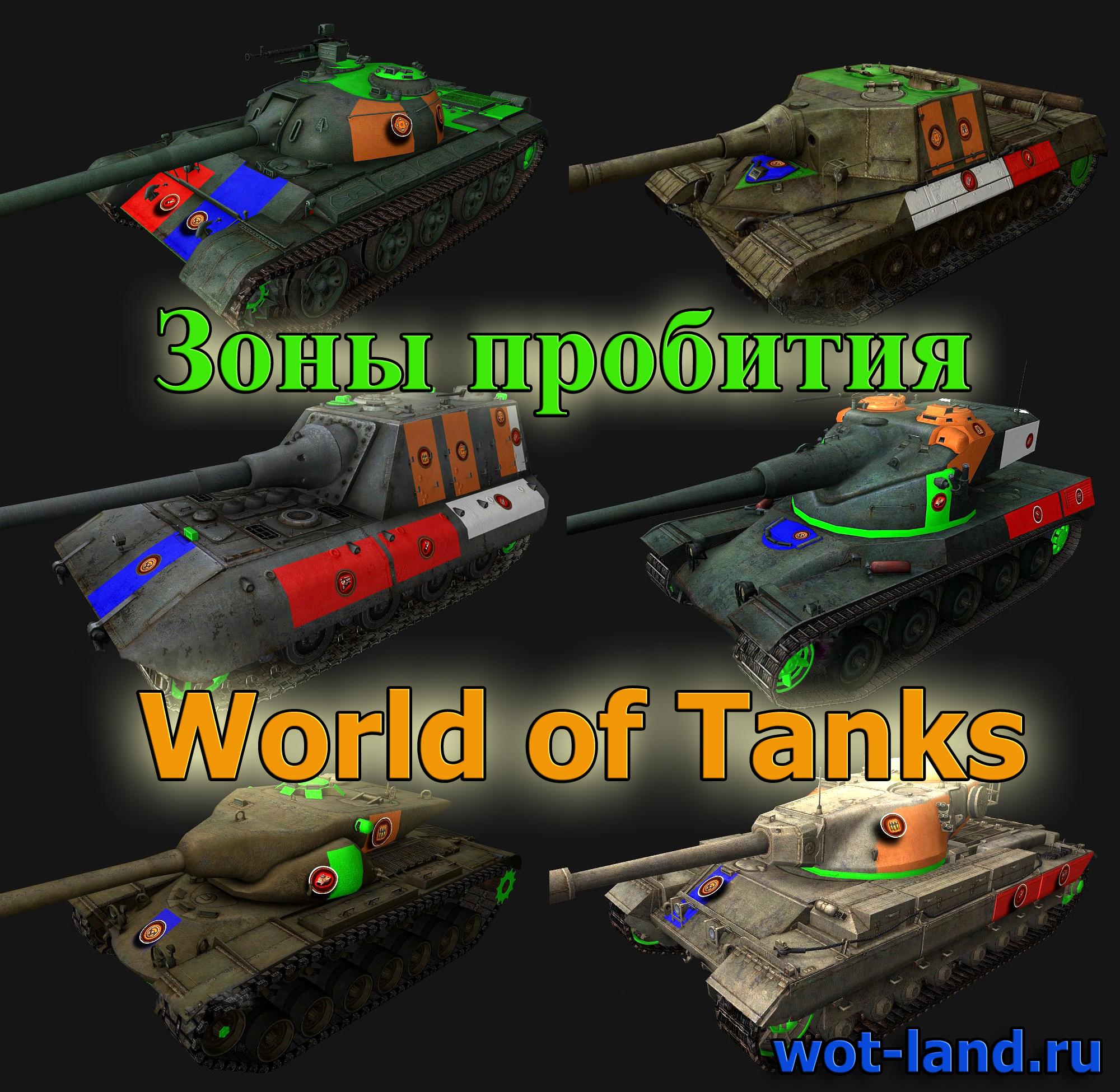 Шкурки пробития для world of tanks